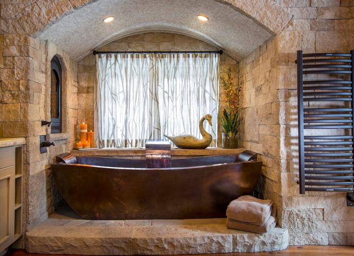 арка в ванной