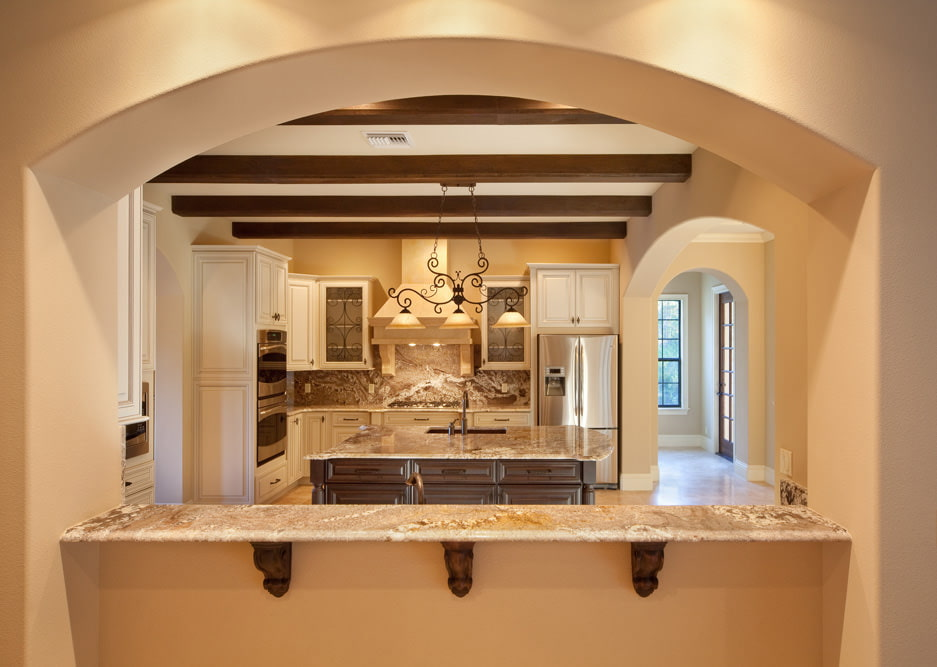 кухни фото с аркой