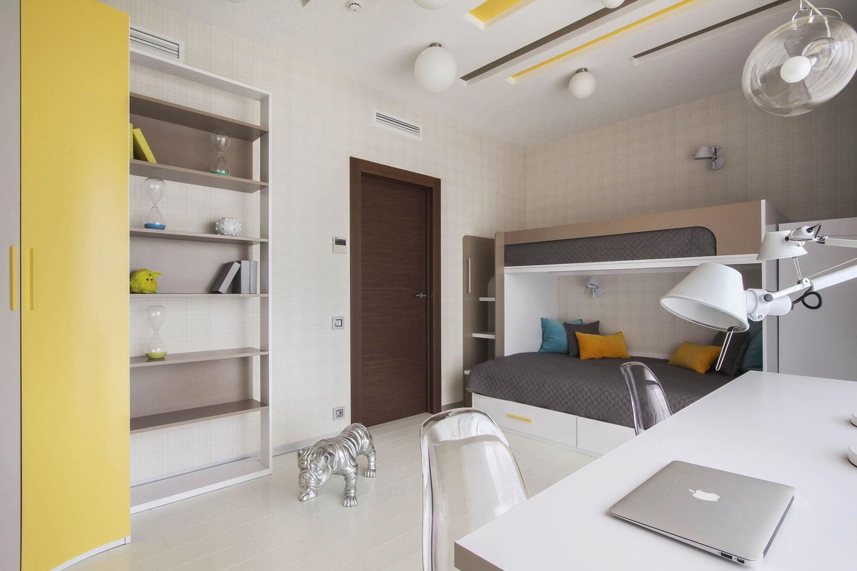 Дизайн комнаты для двух разнополых детей подростков фото