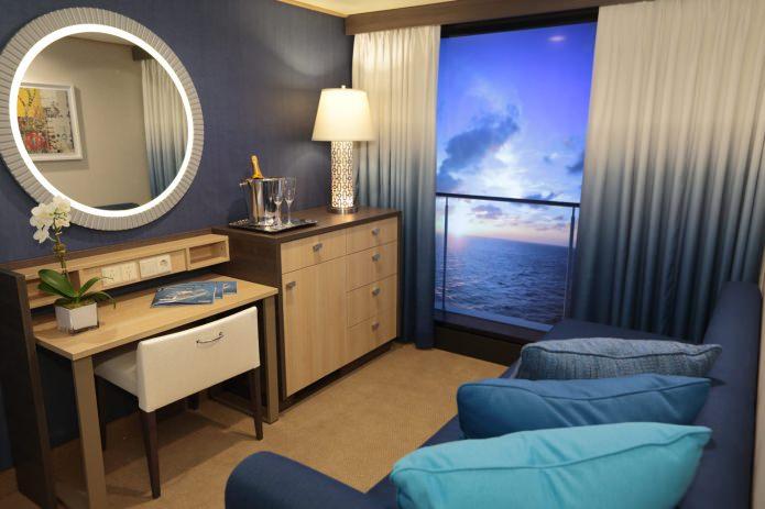 Интерьер комнаты без окон: варианты, фото