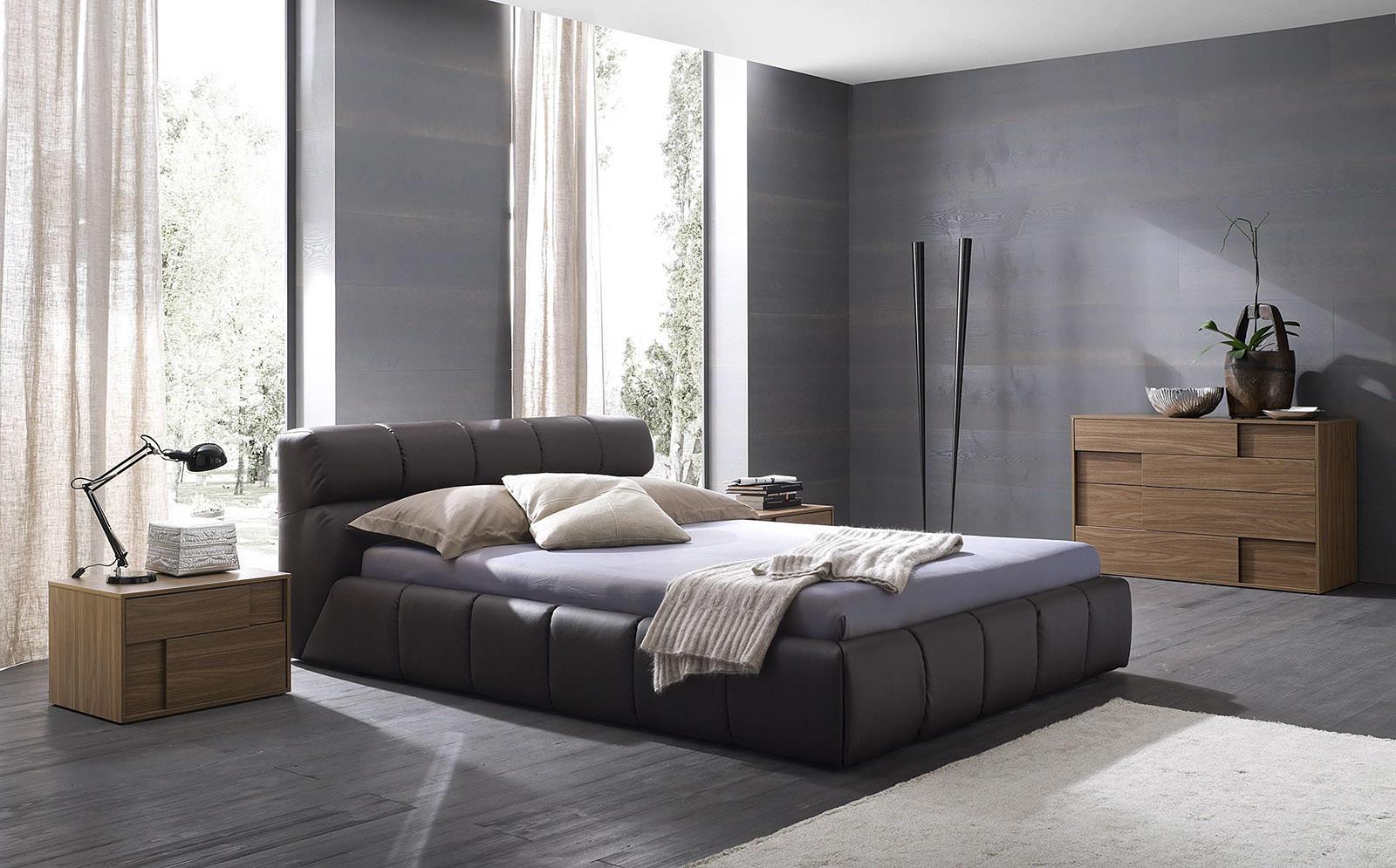 Спальня в сером цвете дизайн
