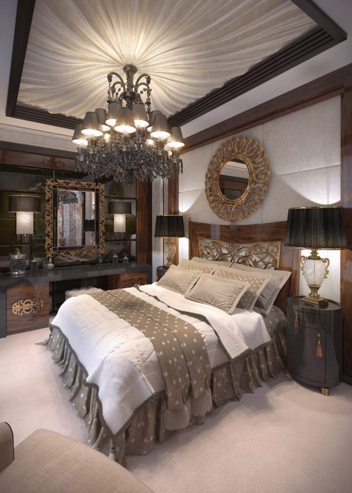 Спальня в стиле арт-деко: особенности, фото