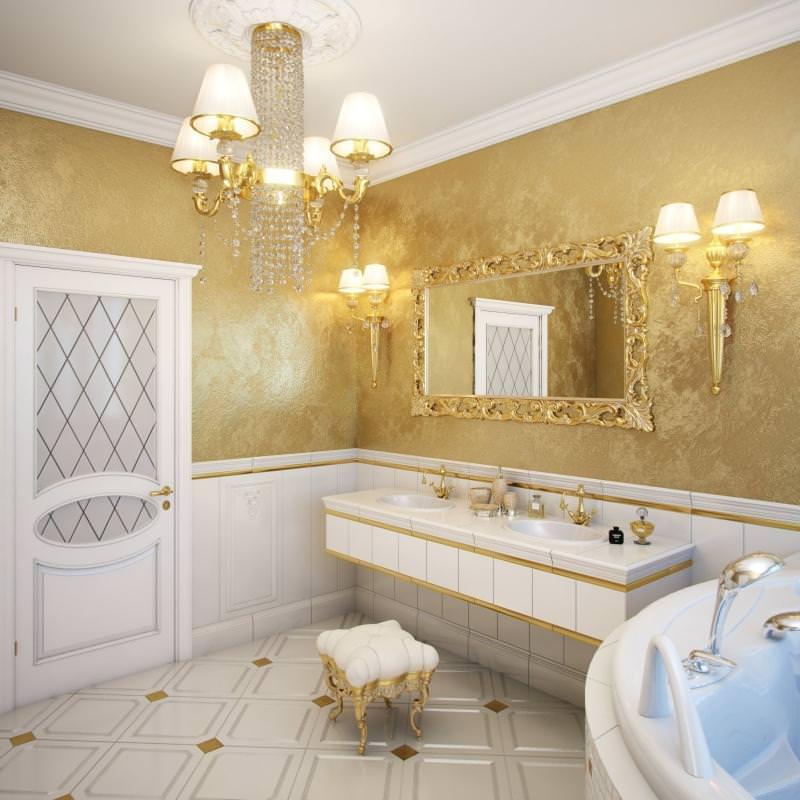 Покраска ванной комнаты дизайн