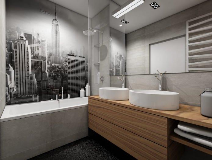 фотопечать в ванной