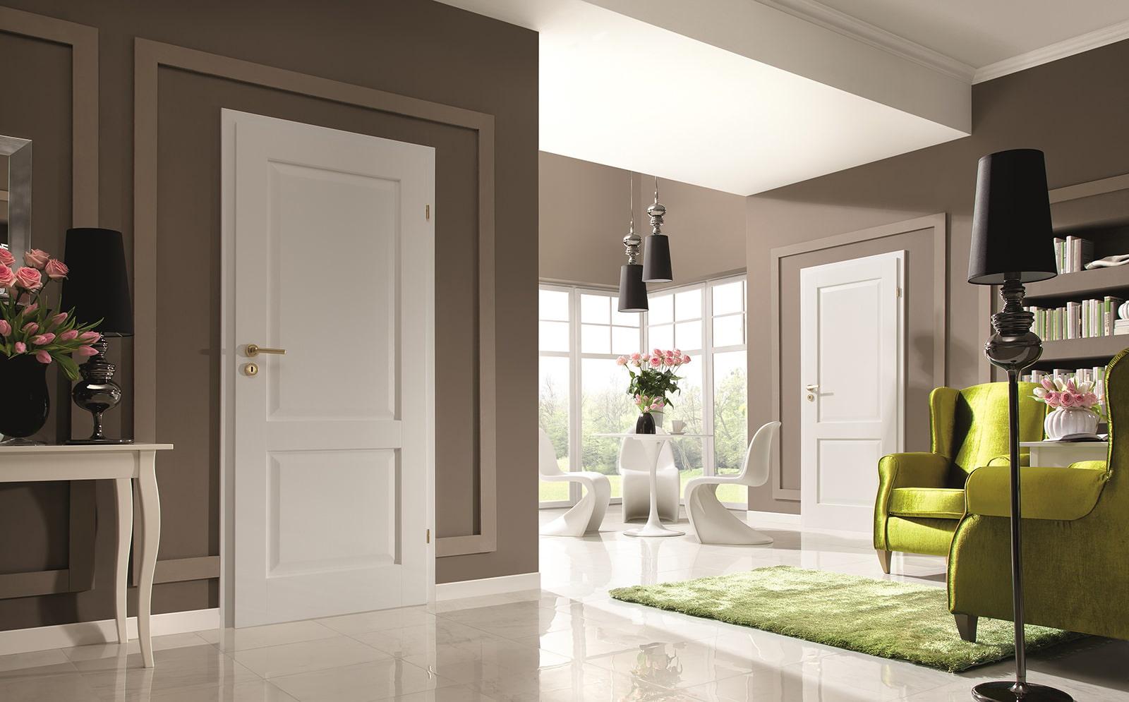 Двери и ламинат сочетание фото
