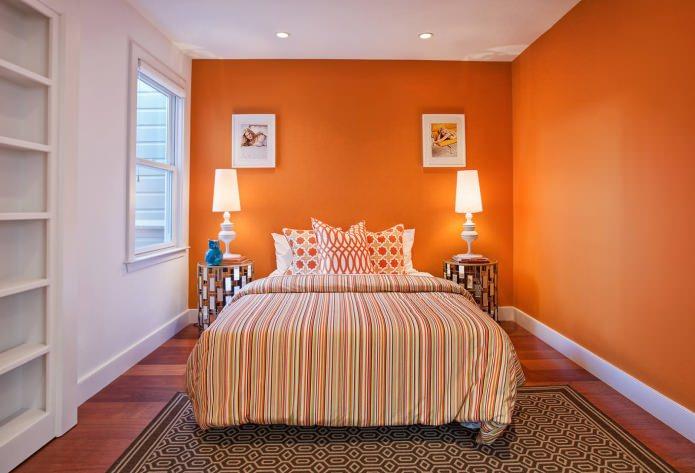 Цветовое сочетание стен, пола и потолка