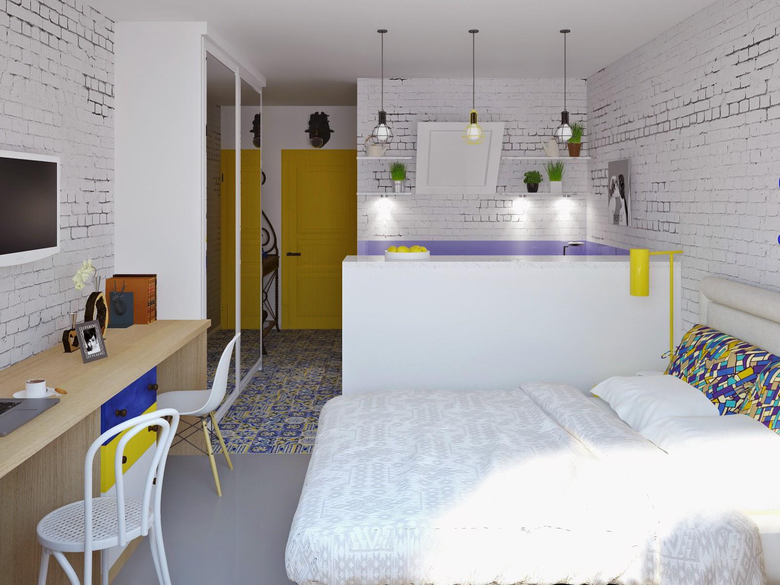 Квартиры студии 24 кв м дизайн