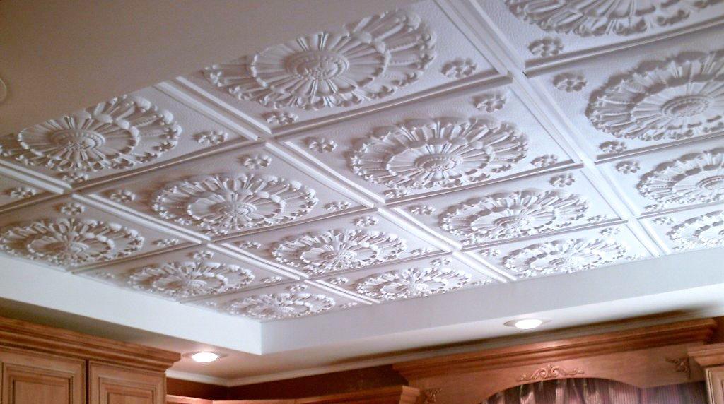 из фото плиток потолок пенопластовых