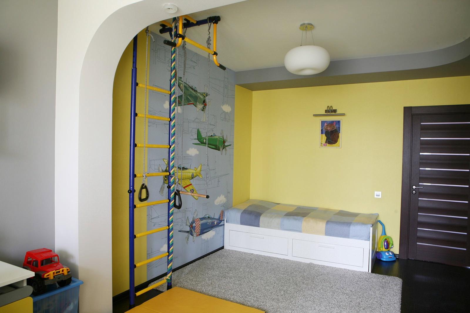 Ремонт детской комнаты для начинающих