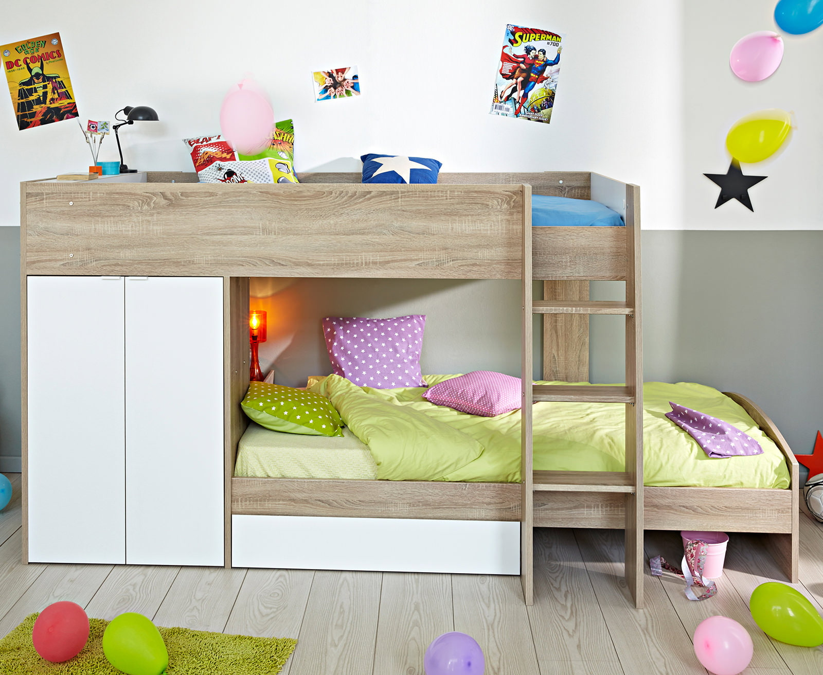 Варианты детских кроватей