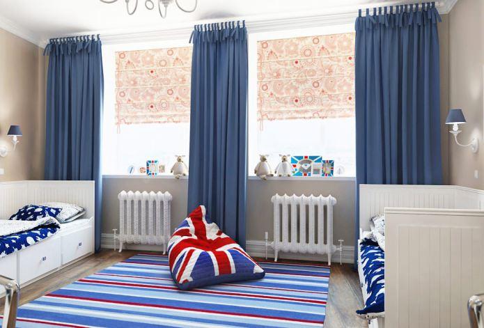 Оформляем детскую комнату в английском стиле