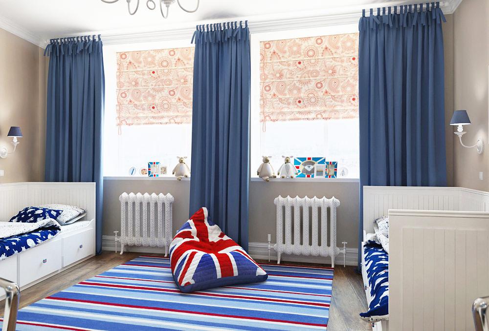 Комната в английском стиле фото