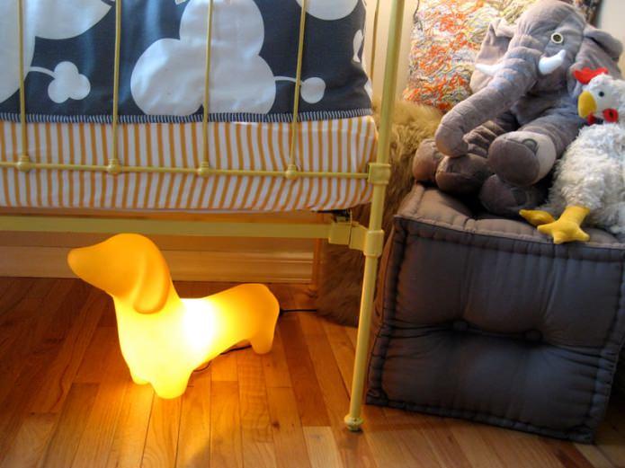 Освещение в детской комнате: правила и варианты