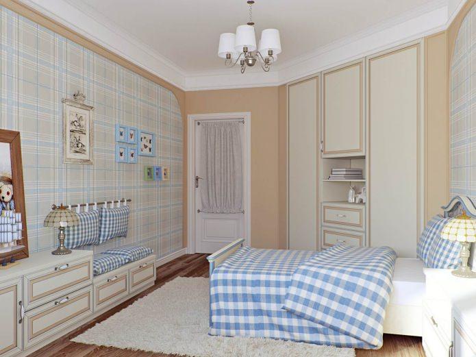 Детская комната в стиле кантри: особенности, фото
