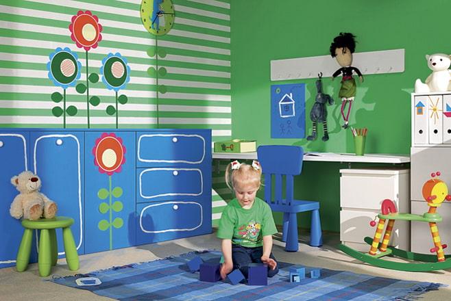 Три дизайн-проекта детских комнат