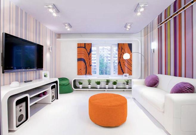 Дизайн гостиной 16 кв.м в панельном доме фото