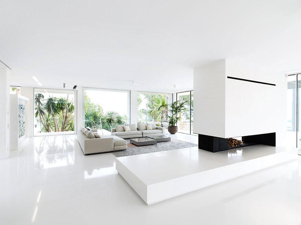 Белый цвет в дизайне