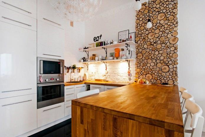 Эко стиль на кухне