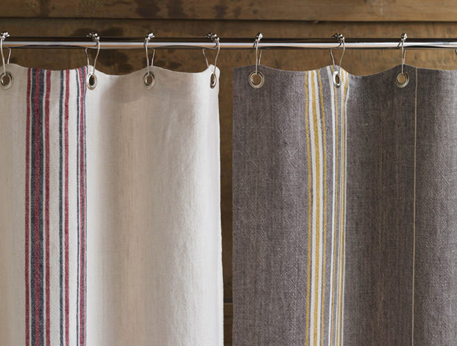 Rustic country curtains