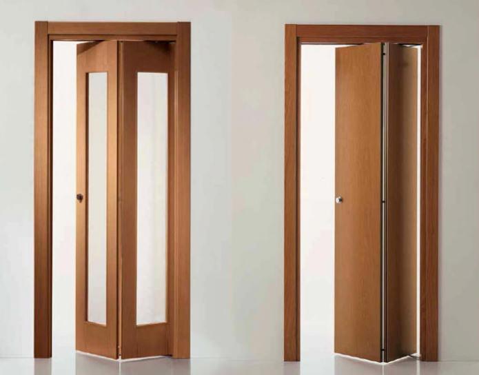 складная межкомнатная дверь