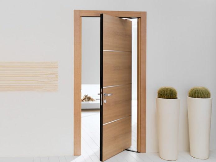 вращающаяся межкомнатная дверь