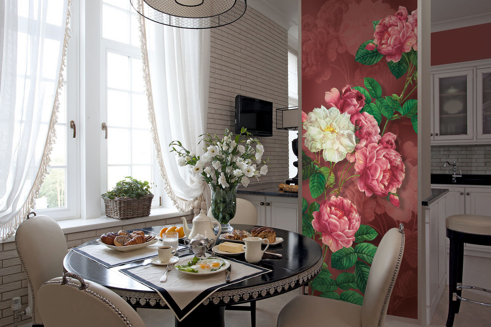 Красивые розы крупные фото