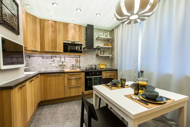 Интерьер кухни 10 кв метров
