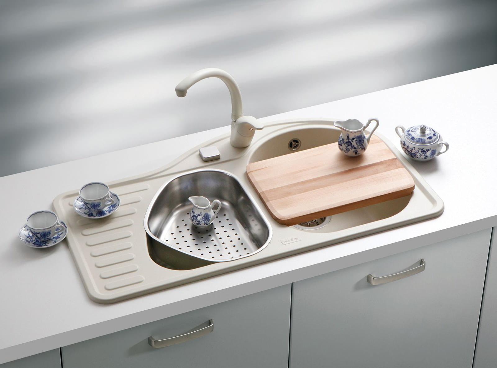 Как выбрать мойку для кухни? Типы и виды моек