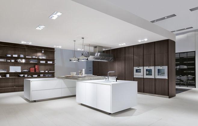 Цвет венге в дизайне кухни