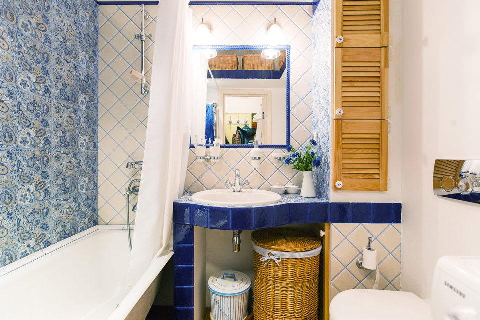Дизайн ванной комнаты стиль прованс