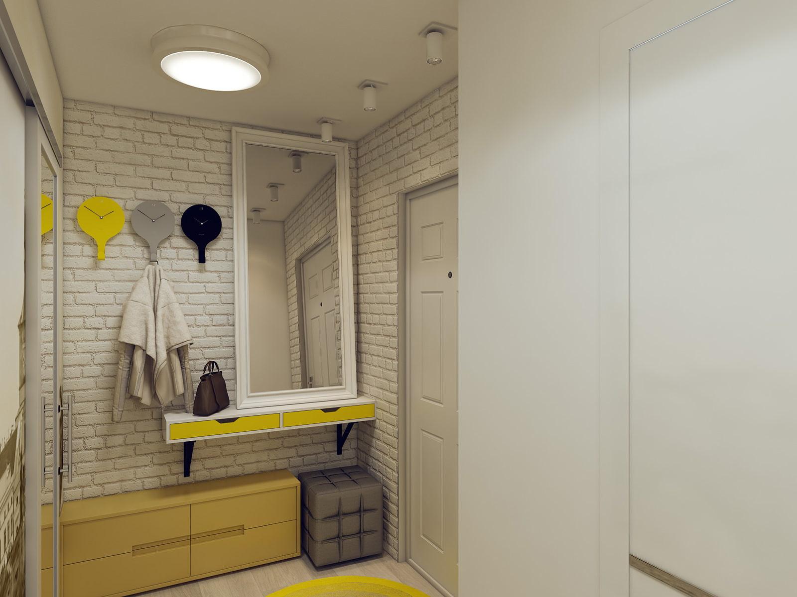 Дизайн длинного коридора, 96 фото — этотдом.