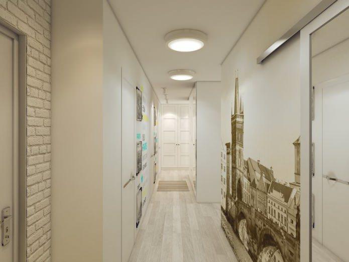 Шкаф-купе в коридоре и гардеробная Идеи для ремонта 33