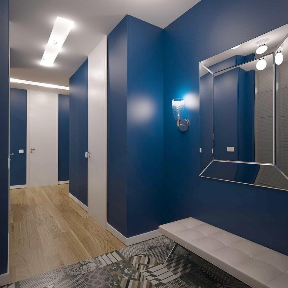 игрушки, коридор в синем цвете фото означает, что труд