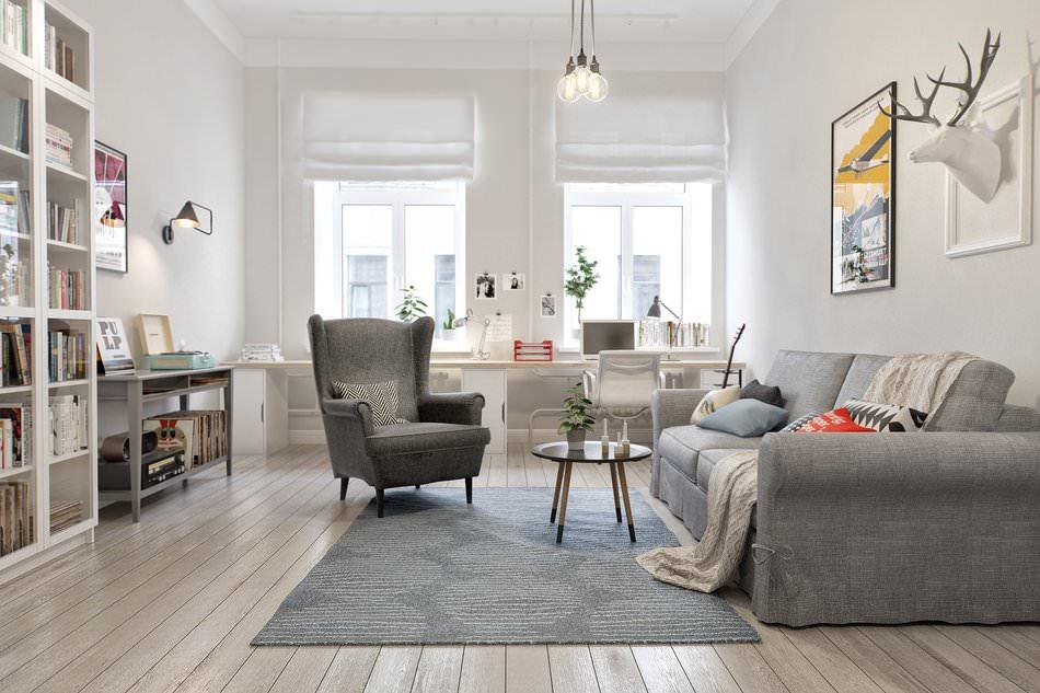 дизайн трёхкомнатной квартиры 100 кв.м фото