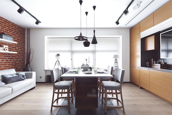 Дизайн интерьера квартиры 33 кв