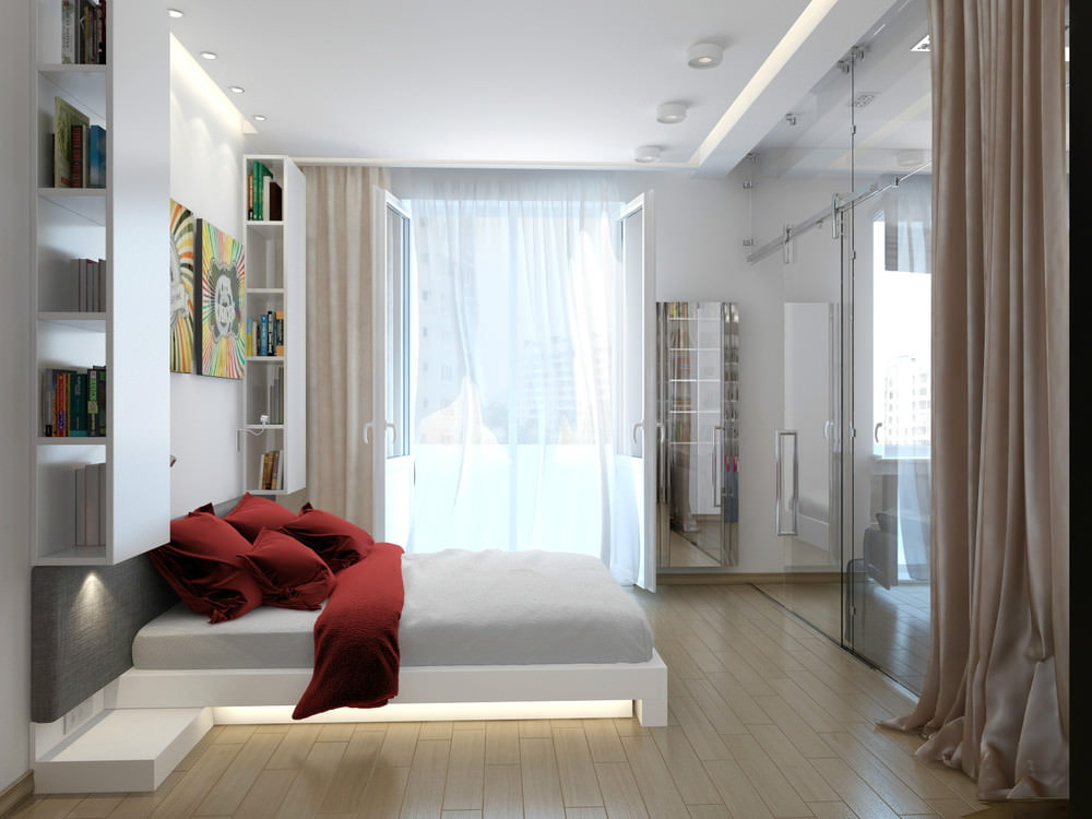 Дизайн квартиры с небом