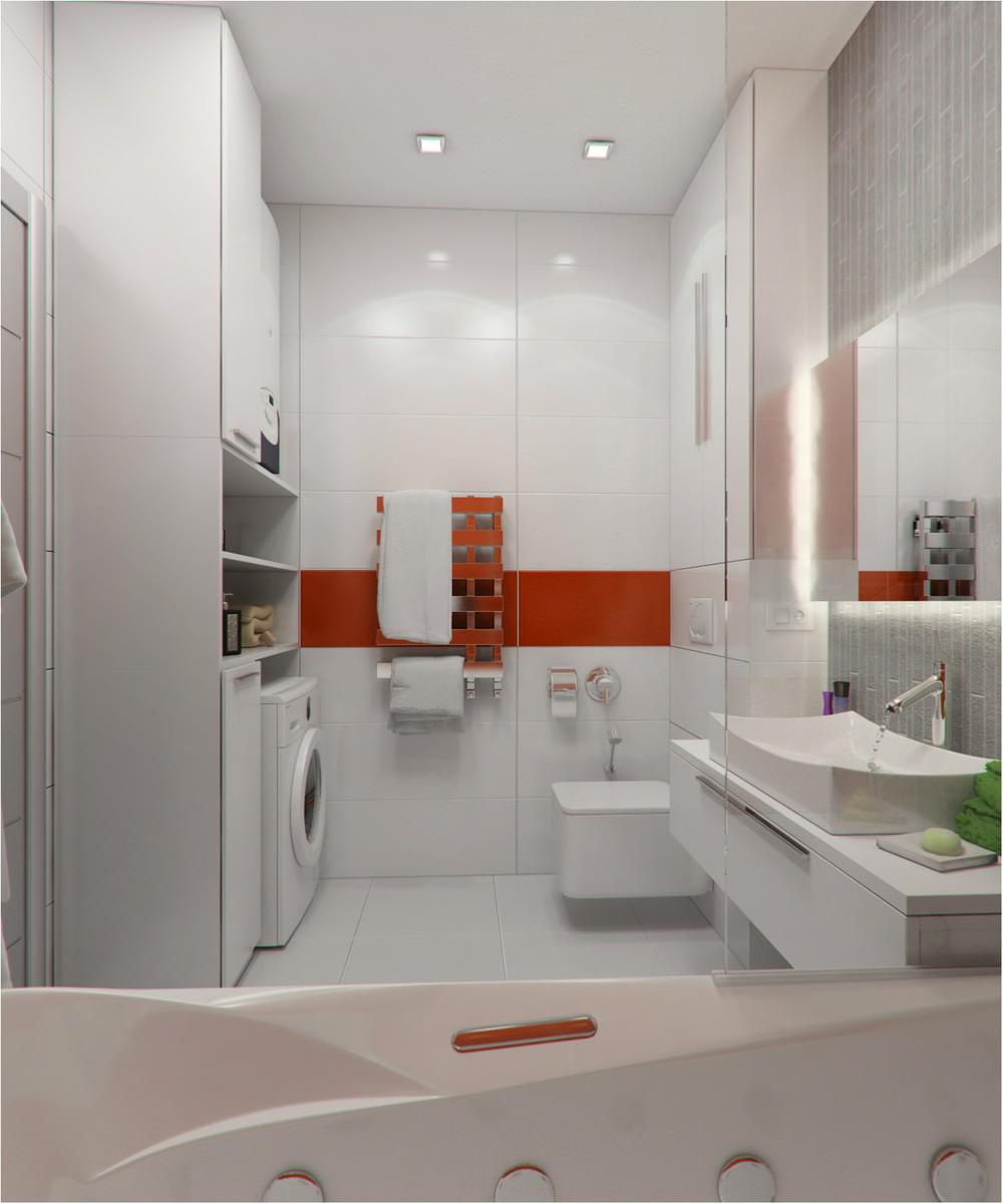 Ванная 17 на 17 дизайн