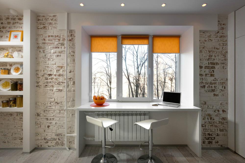 Дизайн компактной квартиры-студии 22 кв. м. Дизайн Кухни 3 кв Метров