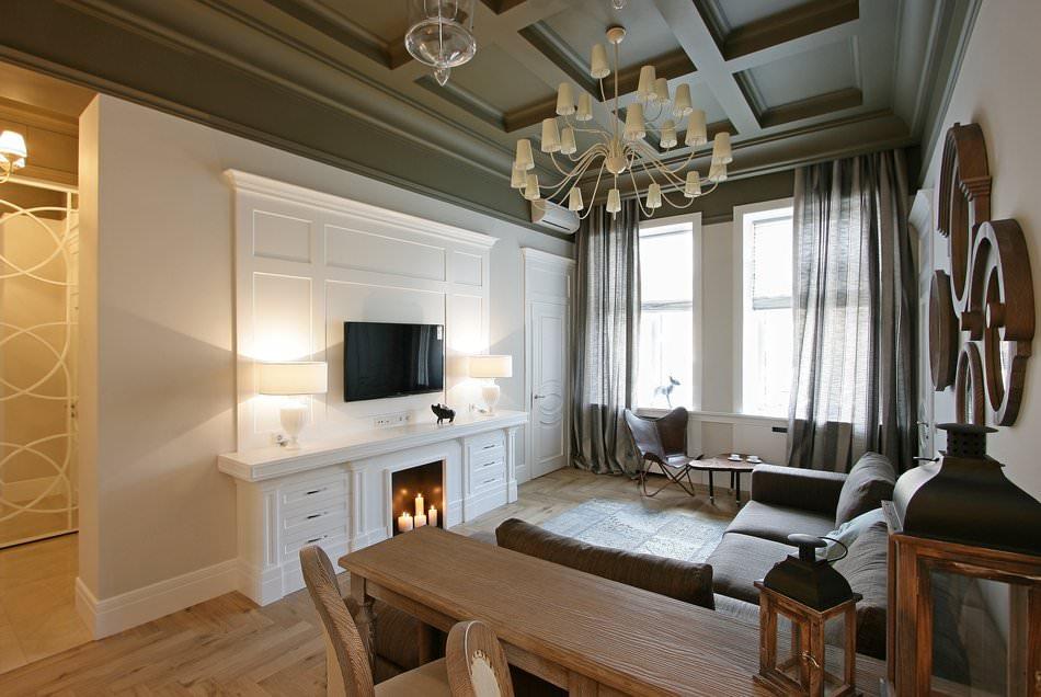 дизайн квартир в современной классике фото