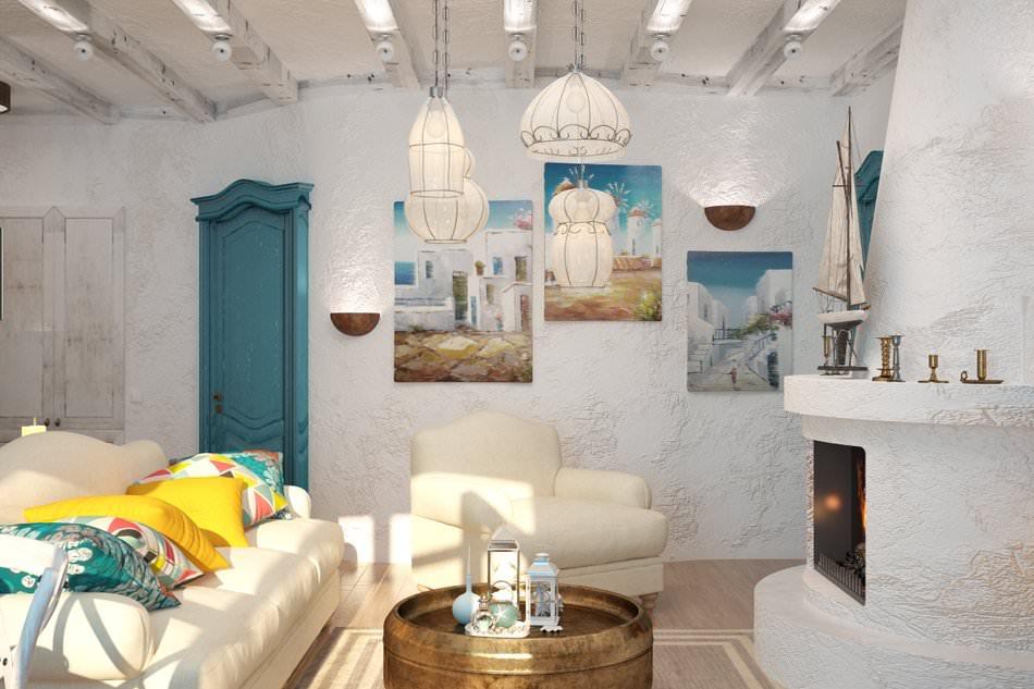 Квартира в средиземноморском стиле дизайн