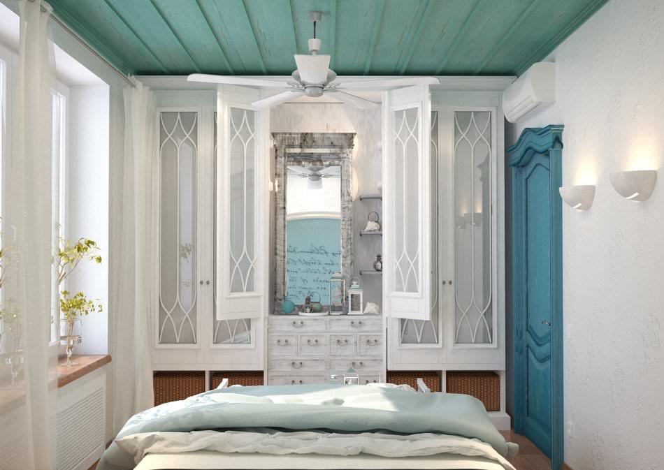 Спальня в средиземноморском стиле дизайн фото