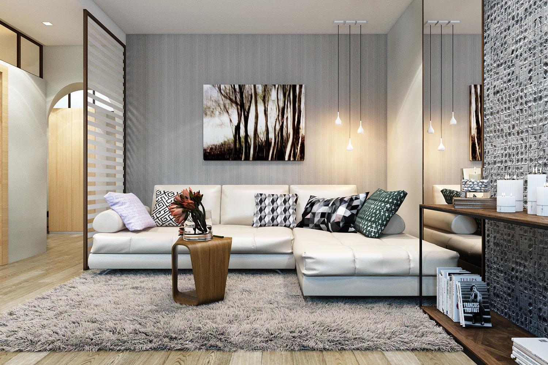 Projektový projekt 3-izbového bytu