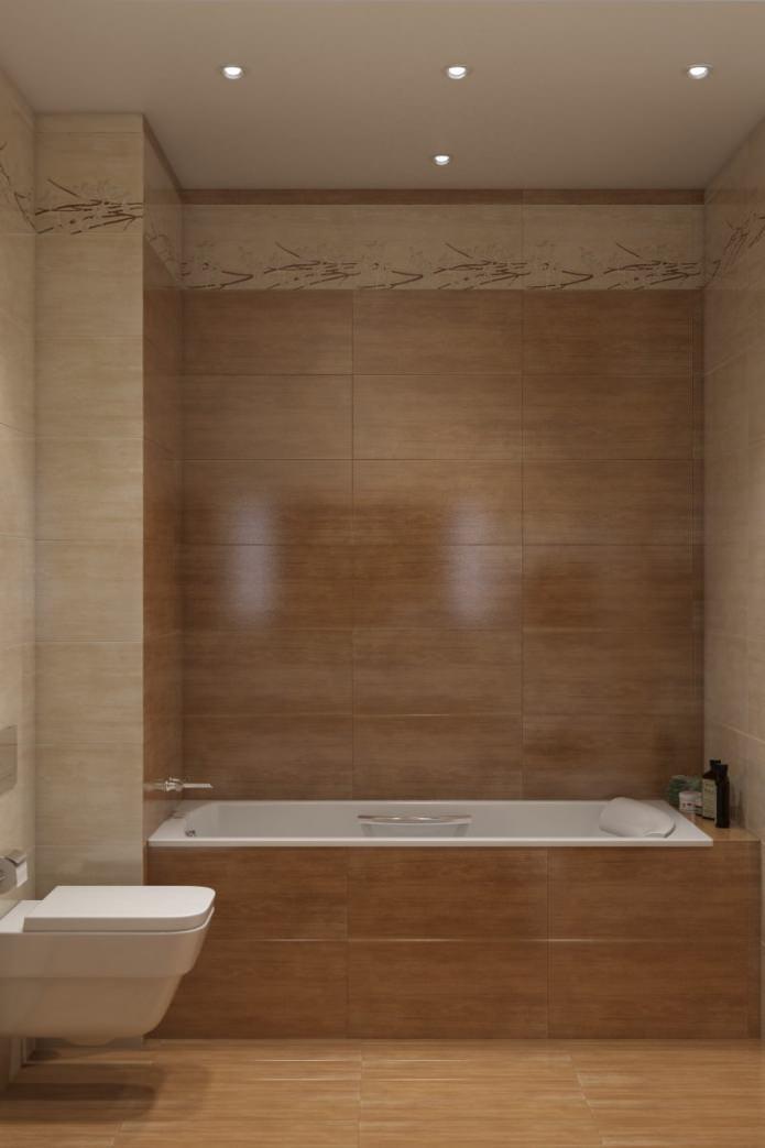 ванная комната в современном оформлении квартиры
