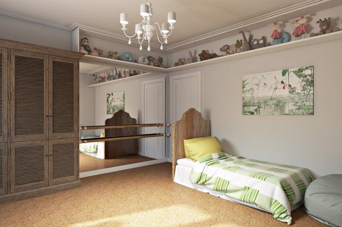 Детская комната в современном оформлении квартиры