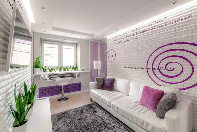 Дизайн студии 20 кв