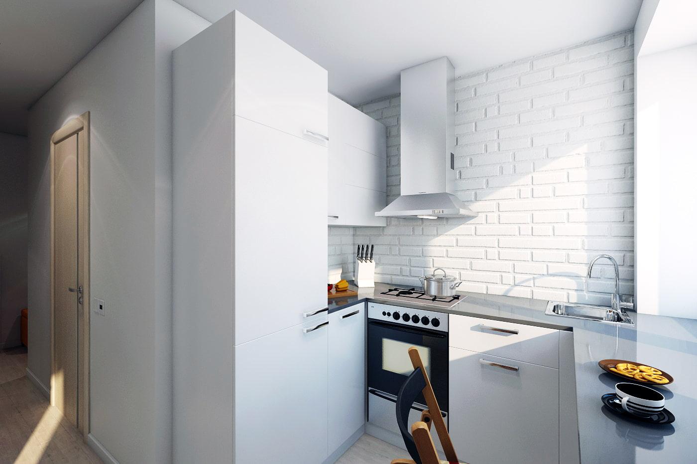 шторы для кухни современный дизайн фото