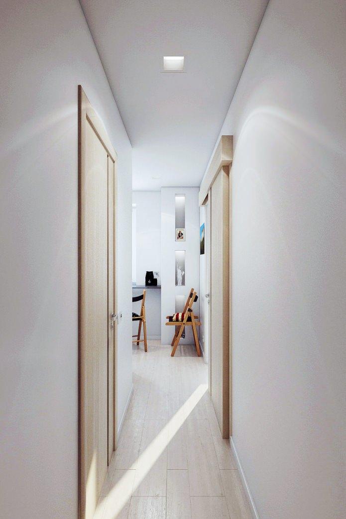 корридор в интерьере 2-комнатной квартиры