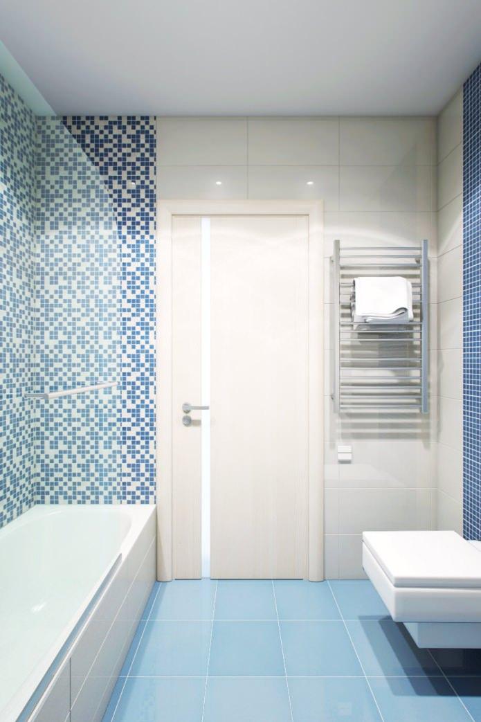 ванная в интерьере 2-комнатной квартиры