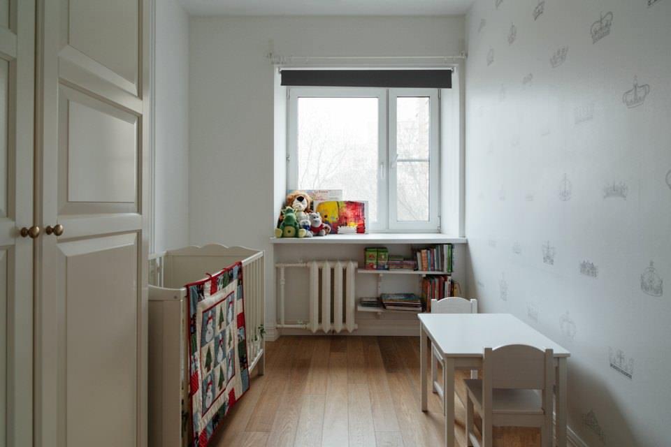Интерьер трехкомнатной квартиры 57 кв. м..