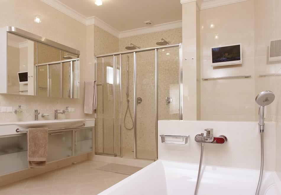 Минималистичный современный дизайн интерьера квартиры